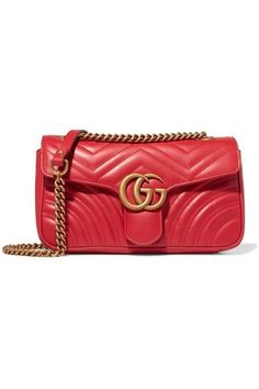 7d6d9b3f8fe8b Gucci - GG Marmont small quilted leather shoulder bag