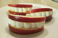 apple smiles - DIY - funny =)