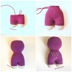 Crochet owl tutorial: legs, body and head Knit Or Crochet, Crochet Toys, Crochet Baby, Free Crochet, Amigurumi Doll, Amigurumi Patterns, Crochet Patterns, Crochet Numbers, Baby Owls