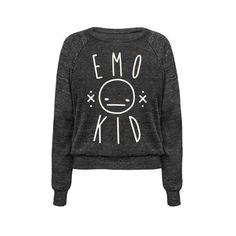 Emo Kid shirt Liked on Polyvore