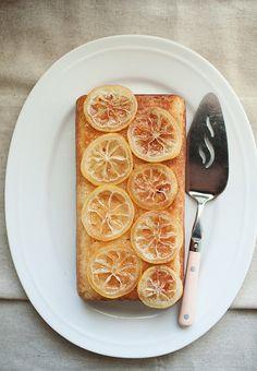 lemon cake by the little red house, via Flickr