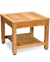 Bristol Teak Outdoor Side Table