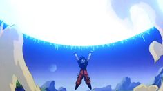 Algumas vezes você se sentou na frente da TV com as mãos para cima tentando ajudar Goku com a Genki Dama. | 12 poderes que você tentou desenvolver na vida real por causa de desenho