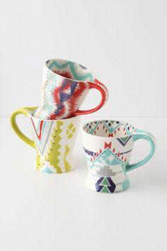 Summer sophistication - Questa Mug - $5 Anthropologie.com