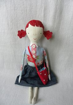 Ulrika   handmade girly doll