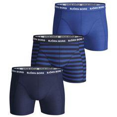 Bjorn Borg Naito Microfiber Boxer Shorts Blue