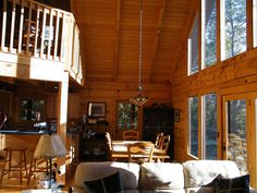 Welcome to Hog Heaven Cabin. Perched high atop a wooded ridge with a spectacular panoramic views of Bald Mountain. Come relax in this secluded setting located within the private gated community of Rumbling Bald ...