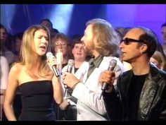 Immortality - Celine Dion & Bee Gees LIVE ** Awesome Quality**   @Marianne Glass Glass Celino Rutledge 1998
