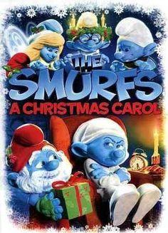Kids Smurfs Christmas Carol (Dvd)