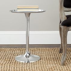 Safavieh Platian Silver Table | Overstock.com Shopping - The Best Deals on Coffee, Sofa & End Tables $107.99