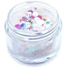 In Your Dreams Iridescent Mermaid Chunky Glitter ($10) ❤ liked on Polyvore featuring beauty products