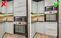 9 Kitchen Design Mistakes That Can Turn Your Life Into a Mess Kitchen Room Design, Home Room Design, Kitchen Layout, Home Decor Kitchen, Interior Design Kitchen, Kitchen Furniture, Home Kitchens, Kitchen Measurements, Decoration Bedroom
