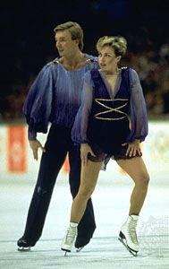 Torvill and Dean Bolero, Olympic Champions 1984 - watching this full routine on beeb2 this evening had me on the verge of emosh. #hairsup