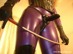 strict strapon dominatrix