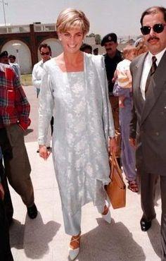 Princess Diana in Pakistan, 1997