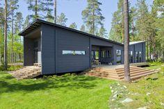 Honka Blockhaus Modell Lokki Seitenansicht