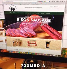 Working on an exciting new e-commerce website for a #BlackForest based #smallbusiness. Can't wait to add this one to our #website #design #portfolio! Just in time for the #holiday season. We have tried some of the #bison #jerky and it is fantastic! #ColoradoSprings #Colorado #noMSG #healthy #cooking #protein #recipes #eatthis #wordpress #onlineshopping #720MEDIA #coloradolife  (at Colorado Springs, Colorado)