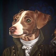 #portait #victorian #dogs  #lovedogs #tailtotail #greyhound #puppy  #galgo