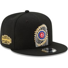 Chicago Cubs 2016 World Series Champions Trophy 9FIFTY Snapback Adjustable Hat  #ChicagoCubs #Cubs #FlyTheW #WorldSeries SportsWorldChicago.com