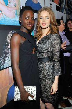 #LupitaNyong'o and #AmyAdams are seen at the W Magazine celebration of The 'Best Performances' Portfolio and The Golden Globes with Cadillac and Dom Perignon at #ChateauMarmont Hotel on January 9, 2014 in Los Angeles. Check out other Celebs Spotted at Chateau Marmont Hotel: http://celebhotspots.com/hotspot/?hotspotid=23421&next=1