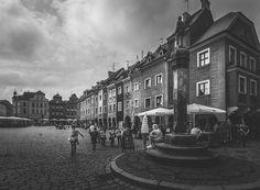 Stary Rynek w Poznaniu, Old Market Square in Poznan.