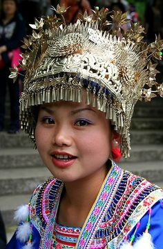 Miao Girl  | China photo