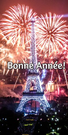 I wish you a happy new year! Happy New Year Images, New Year 2017, French Language Learning, I Love Paris, Champs Elysees, French Lessons, Nouvel An, Learn French, France Travel