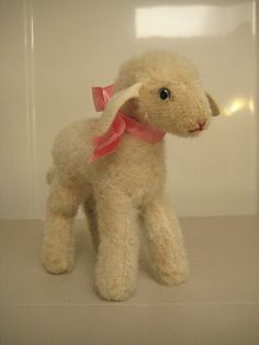 New listing in my #ETSY Shop: #Steiff #Vintage Lamby #Lamb ~ 14 cm ~ A Sweet Charmer!