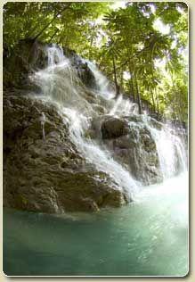 Port Antonio, Jamaica waterfall