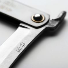 Couteau Higonokami Samouraï manche noir