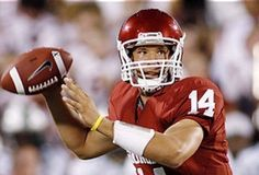OU quarterback turned pro...Playing with the St. Louis Rams...Holds NCAA record as a freshman for most touchdown passes, with 36...Won Heisman Trophy as a sophomore...