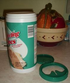 Make your own Disinfecting wipes