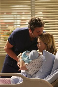I Want You With Me - Derek Shepherd, Meredith Grey I want a picture like this when I have a baby