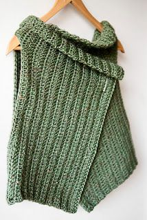 crochetingclub: Chaleco. Two and Six Wrapped Vest