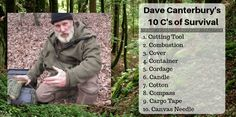 The 10 C's of Survival was developed by Dave Canterbury as a means to provide guidance for those who spend a lot of time in the woods. In the case of some kind of emergency, Dave offers this list to be able to stay alive. For those not familiar with Dave Canterbury he was once half the duo in the first few seasons of Dual Survival and owner of The Pathfinder School. He also has a very popular YouTube Channel with an emphasis on bushcraft skills. #survival #bushcraft