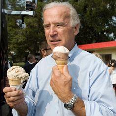 Joe Biden Eating Ice Cream CNN Video
