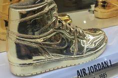 http://SneakersCartel.com Gold Air Jordans Spotted At The Jordan Brand Store In New Orleans #sneakers #shoes #kicks #jordan #lebron #nba #nike #adidas #reebok #airjordan #sneakerhead #fashion #sneakerscartel
