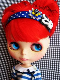 Blythe is Red - If only I were a kid again