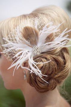 peacock feather (bridesmaids)