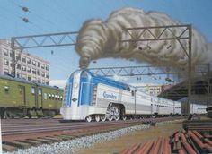 Railroad Art | Train Giclee Art Prints for Sale | James ... |Reading Railroad Train Art Prints