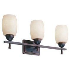 Lithonia Lighting 11533 Ferros 3 Light Bathroom Light