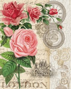 Steam Punk Roses I from Studio Voltaire