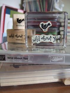 Hurray! Success!   Bye-bye wooden stamp sets, Hello clear cling mounts! Unsatisfied with the video options I was given on how to convert mo...