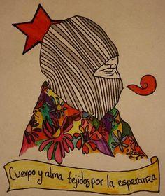 LA PROPUESTA CNI-EZLN, LA IZQUIERDA PARTIDISTA Y EL ESTADO MEXICANO. Chicano Studies, Arte Latina, Mexico Art, Free Mind, Political Art, Mexican American, Feminist Art, Mail Art, Art Drawings