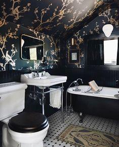 49 Simply Black And White Tile Bathroom Decor Ideas – Design