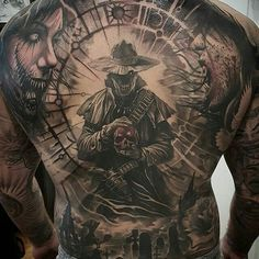"8,430 Likes, 34 Comments - World of Pencils (@worldofpencils) on Instagram: ""@nyempirestatetattooexpo post of the day - Back piece by artist @tat2beny. Don't miss the NY…"""