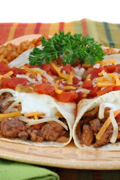 Budget Friendly Beef and Bean Burritos Recipe