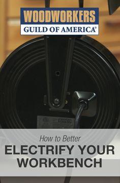 Cool Workbench Ideas: Electrify Your Workbench | WWGOA
