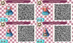 Casual Princess dress ~ acnl qr code