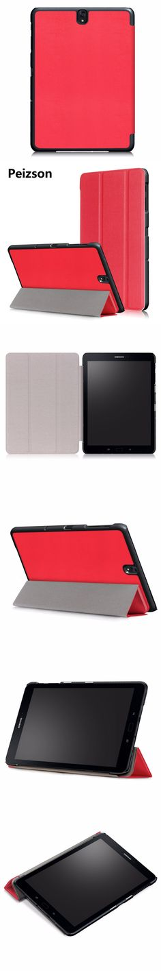 """Luxury Cover for Samsung Galaxy Tab S3 9.7""""Case,Flip PU Leather Tablet Case for Samsung Galaxy Tab S3 9.7 SM-T820 T825 Cover+Pen"""